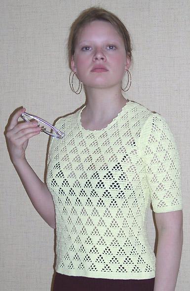 вязание спицами женских кофт. вязаные кофточки.