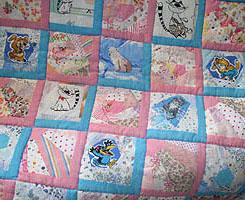 Детский коврик в стиле пэчворк своими руками